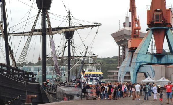 Visita barco con La Serena